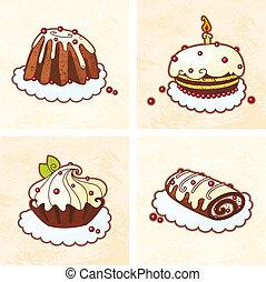 pastel, feriado