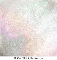 pastel, fondo gris