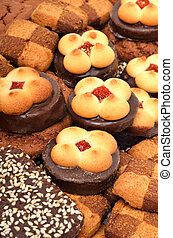 pastel, galletas, mantecada, galletas