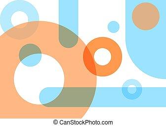 Pastel geometric background