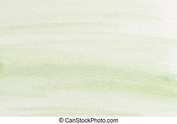 pastel green watercolor abstract