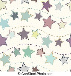pastel, groot, purple., winter, dotted, achtergrond., model, uitnodigingen, seamless, giftwrapping, briefpapier, producten, vector, sterretjes, textured, garlands, feestje, wintertaling, vakantie, kerstmis, roze
