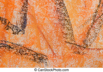 Pastel Grunge Background: Orange Series