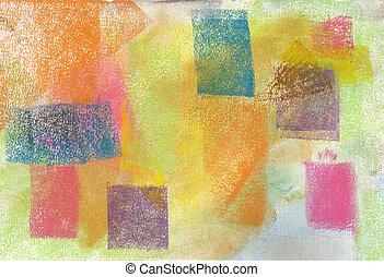 pastel:, grunge, baggrund