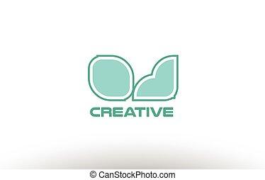 pastel, oj, kombinacja, połączenie, alfabet, j, o, comany,...