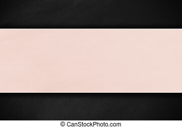 Pastel paper on dark background