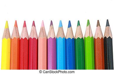 pastel pencil - pastel coloured pencil