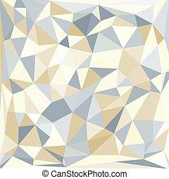 pastel, résumé, triangles, fond
