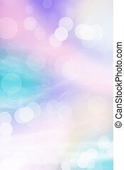Pastel rainbow colored background
