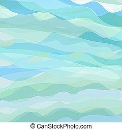 pastel, resumen, colores, plano de fondo, ondas