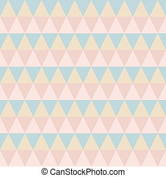 Pastel retro vector seamless pattern.