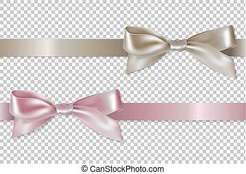 Pastel Ribbons Set