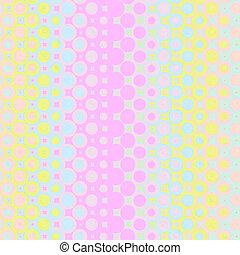 pastel rings pattern