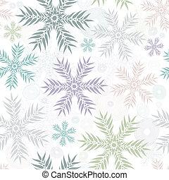 Pastel seamless gentle white pattern