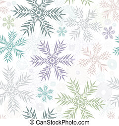 Pastel seamless gentle white pattern