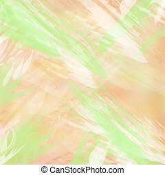 Pastel - Background with brush strokes in pastel colors.