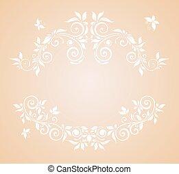 pastel, tarjeta, boda