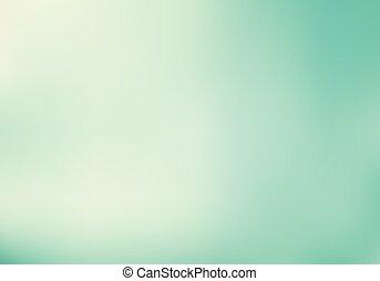 pastel, turquoise, gradient, résumé, effet, arrière-plan., éclairage, vert, menthe, couleur