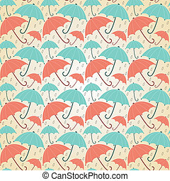 Pastel umbrellas - Background with umbrellas pastel. ...
