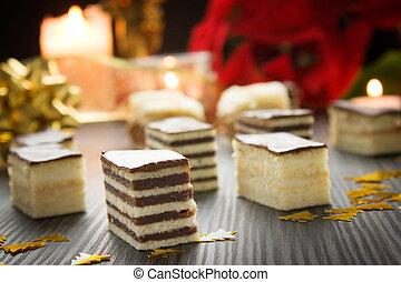 pastel, variedad