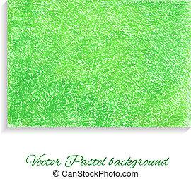 pastel, vector, fondo., papel, artístico, textured