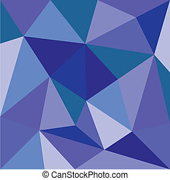 Pastel vector triangle blue pattern