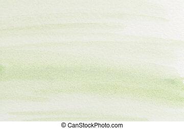pastel, verde, acuarela, resumen