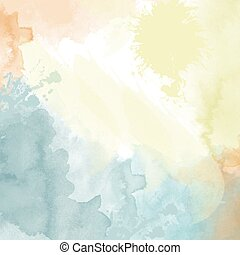 pastel watercolor  background. Digital art painting.