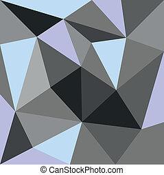 pastel, wektor, trójkąt, tło