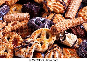 pasteles, bisquit