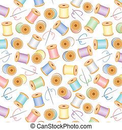pasteles, plano de fondo, seamless
