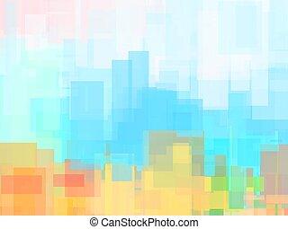 pastell, abstrakt, beschaffenheit, farben, gegenstände, hintergrund, geometrisch, weich, oder