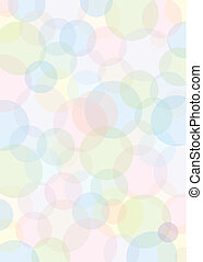 pastell colored spots - background with pastell colored...