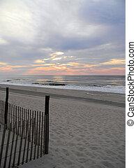 pastell,  Skies,  ocean