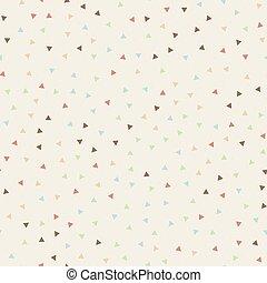 pastellfärg mönstra, abstrakt, seamless, color., trianglar