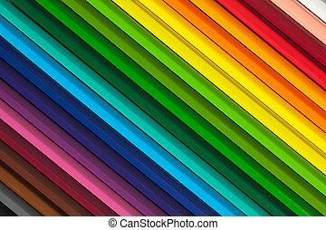 pastelli, colorito, fondo