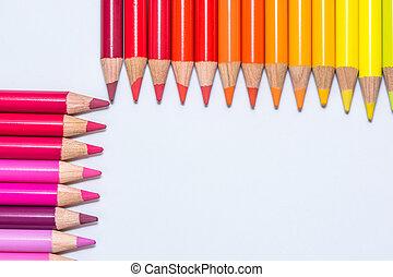 pastelli, file, colorito