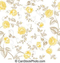 pastello, struttura, textiles, rose, seamless