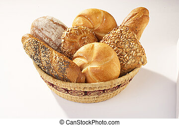Pastery - Gebäck Pastery - Geb䣫 - Basket full with ...