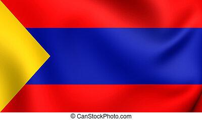 pasto, colombia., σημαία