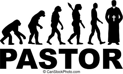 Pastor evolution priestly robes - Evolution of a pastor with...
