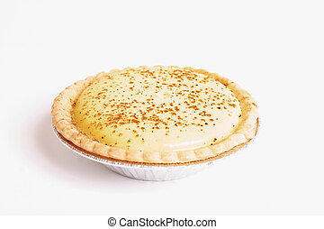 Pastry: Custard Tart - Food:  Pastry:  Custard Tart
