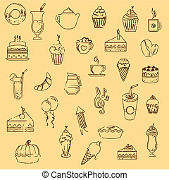 pastry icons