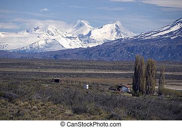patagonia, provinz, von, santa cruz, argentinien