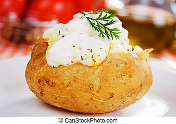 patata cotta forno