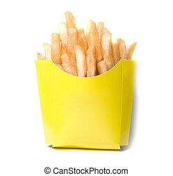 patate, profondo-fritto