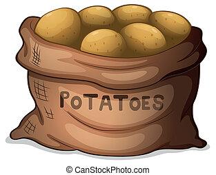 patate, sacco