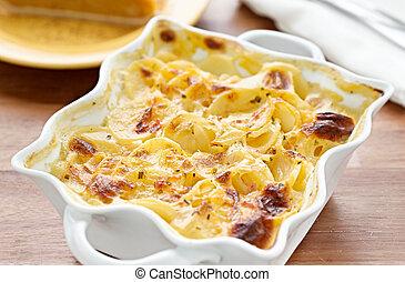 patate scalloped