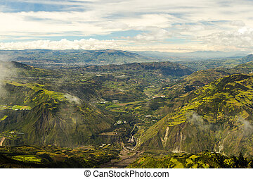 Patate Valley In Ecuador
