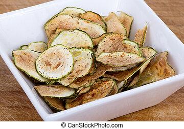 patatine fritte, magro, zucchini